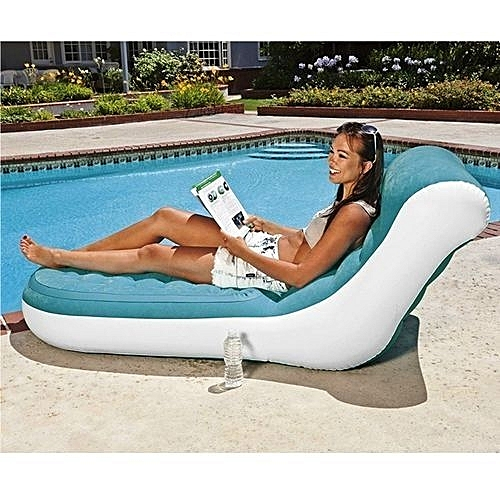 Inflatable Splash Chair With + Free Pump