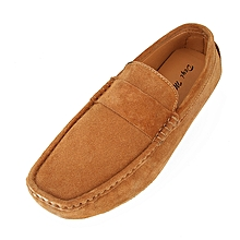 Dress Slip Fashion Men' Driving Shoes Casual Suede Smart Loafers Flat Rubber