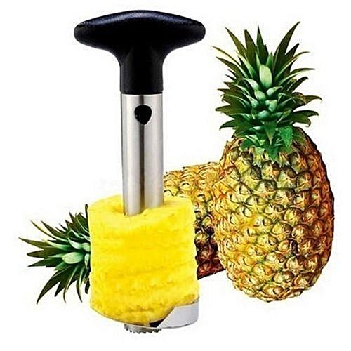 Fruit Pineapple Easy Tool Stainless Steel Corer Slicer Peeler Parer Cutter