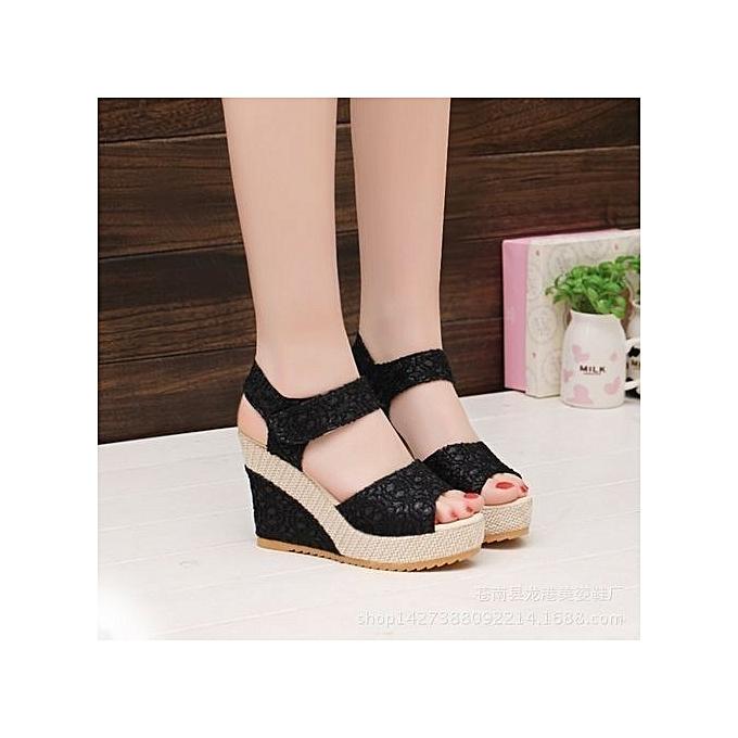 7c337c6a5 Women s Shoes Suitable   Comfortable Shiningstar.n Elegant Sandals Women Wedges  Shoes Fashion Platform High
