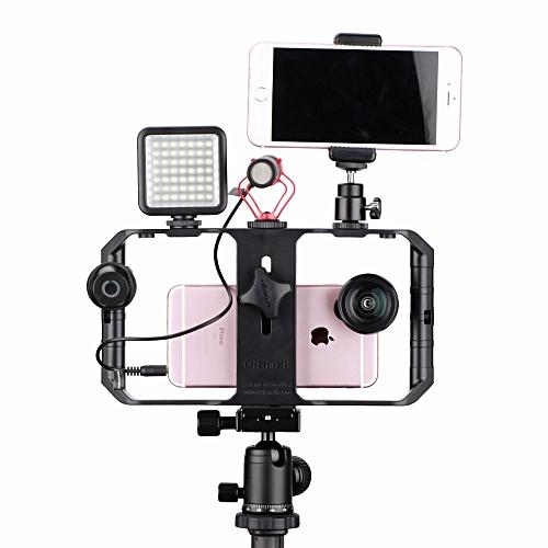 Ulanzi U-Rig Pro Smartphone Video Rig Filmmaking Case Handheld Stabilizer Grip With 3 Shoe Mount