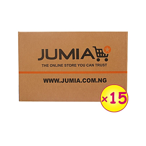 15 Large Branded Cartons (005) (495mm x 250mm x 350mm)