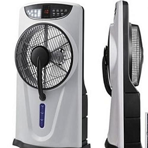 Rechargeable Box Mist Fan + Remote + FREE USB Cable