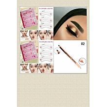 Eyebrow Stencil & Concealer Pencil