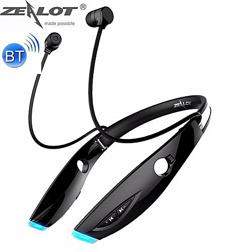 H1 Neckband Bluetooth Wireless Stereo Earphone