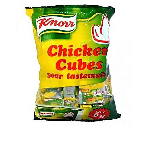 Chicken Stock Cubes - 8g (50 Cubes)