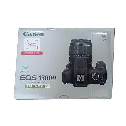 1300D Canon Camera 18-55mm Lens