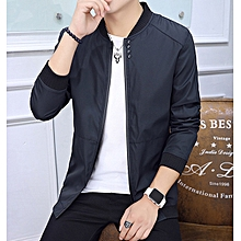 d468326ecade0 Large Size Men  039 s Jacket Baseball Collar Pure Four Button Coat Youth  Pilot