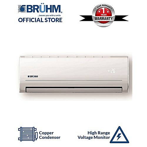 1.5HP Air Conditioner With Installation Kit + Free Vacuum Flask