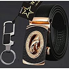 Back To Search Resultsapparel Accessories High Quality Leather Men Belts Male Black Blue Coffee Orange Camel Belts For Women H Buckle Two Sides Female Belt Straps