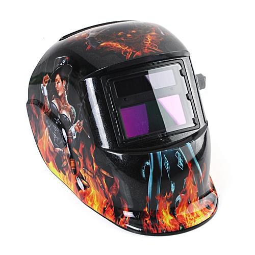 Girl Solar Auto Darkening Welding Helmet MIG Weld Welder Grinding Mask