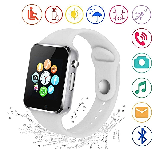 Smart Watch A1 Sport Pedometer With SIM For Android_White