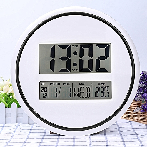 Big Screen Electronic Clock. The Mute Wall Clock.