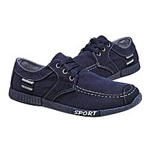 190eed7aa2aab Denim Men Casual Canvas Shoes