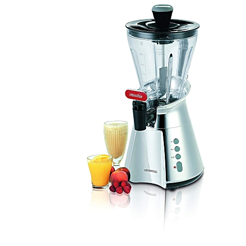 1.5 Litre Smoothie Blender With Dispensing Tap SB266 - Silver