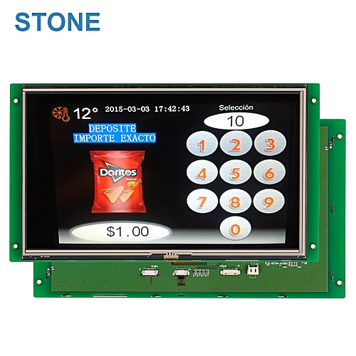 4 Wire Resistive 10.1 InchTFT LCD Display With Touch Screen