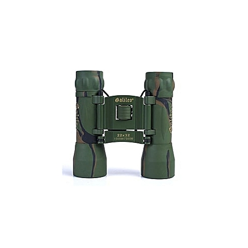 Military 22 X 32 Roof Prism Binoculars