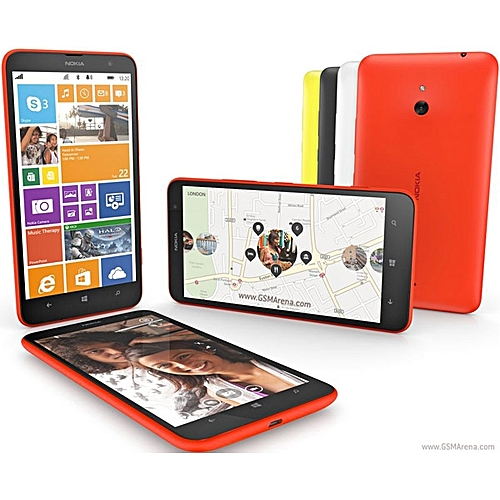 Refurbished Smartphone Nokia Lumia 1320 Dual Core 1G RAM 8GB 5MP Camera GPS 4G 6.0 Inches WIFI