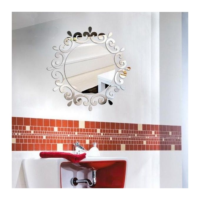 Bathroom Mirror Jumia sunweb new acrylic 3d mirror wall stickers diy wall decor living