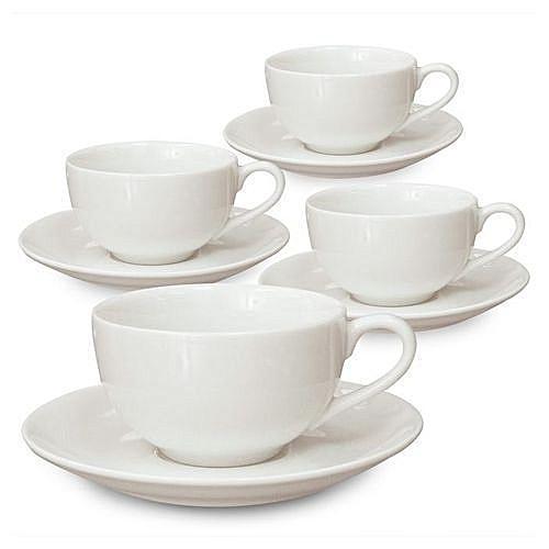 6 Pieces Tea Cups And Saucer