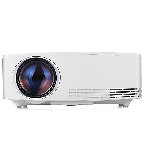 VIVIBRIGHT C80 Portable LCD Projector Home Theater 1500 Lumens 1280 X 720P-WHITE