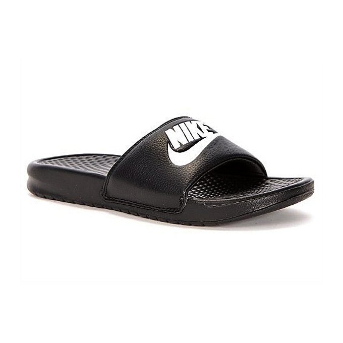 75d685aa74a991 Nike Benassi Jdi Men s Slide - Black   White