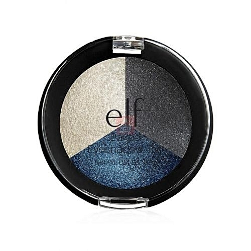 Elf Baked Eyeshadow Trio-  Smoky Sea