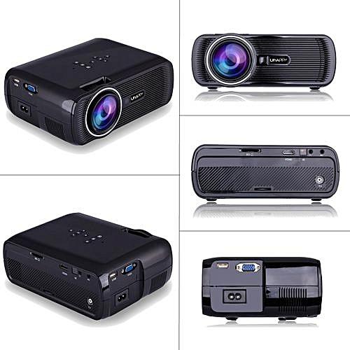 7000 Lumens Uhappy U80 PRO Multimedia Android6.0 1080P LED WIFI Cinema Projector EU Plug
