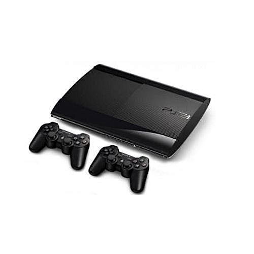 500GB SUPERSLIM PS3 CONSOLE WITH FIFA19 AND PES19 2PAD AND 18 BONUS GAMES