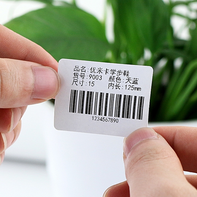 ... 60mm By 40mm Direct Thermal Barcode Label Sticker Paper