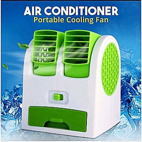 Mini Air Conditioner Fan - Multicolor
