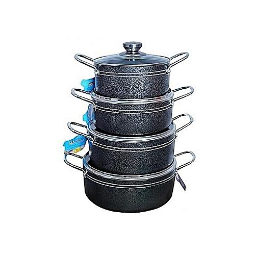 4pcs Non Stick Master Chef Pot Set