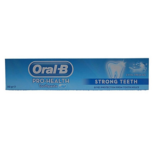 Toothpaste, Strong Teeth, Extra Fresh Gel (140g)
