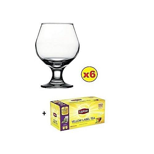 CAPRI WINE GLASS SET - 6PCS