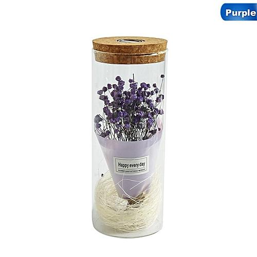 Accessories Beauty The Gypsophila In A Glass Jar LED Light