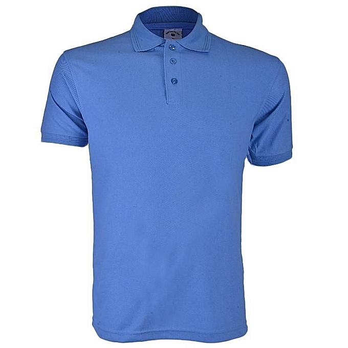 735cdb98f085b Royal Queen s Polo Team Short Sleeve Polo Shirt - Blue