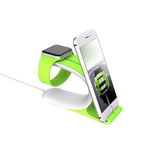 2 In 1 I Watch Charger Holder Phone Stand I Watch Bracket