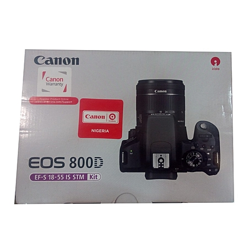 800D Canon Camera 18-55mm Lens