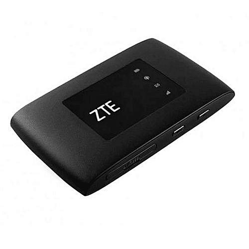 ZTE Universal Mobile 4G Wifi / Mifi ( Ntel, Mtn, Glo, Airtel, Etisalat Or  9mobile) Black