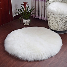 Home Textile Rectangle White Artificia Wool Carpets Chair Cover Carpet For Living Room Bedroom Bedside Sheepskin Skin Fur Area Rugs Easy And Simple To Handle