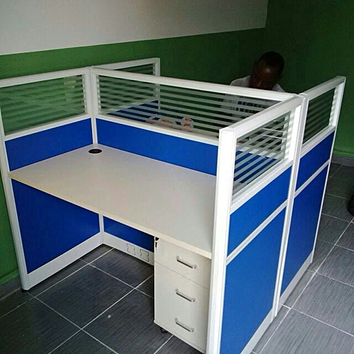 2 Person Work Station (Delivered To Customers In Lagos)