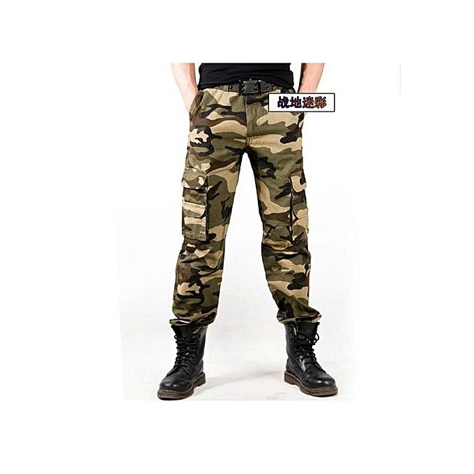d715842060c Mens Hunting Camouflage Pants Clothes Army Military Tactical Pants Trousers  Hunter Camping Climbing Hiking Pants Pantalon