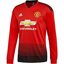 Manchester United Home Shirt 2018   2019 - Long Sleeve eb606a8a1