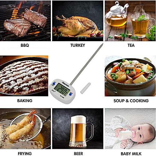 Digital Food Cooking Thermometer Instant Read Meat Thermometer For Kitchen BBQ