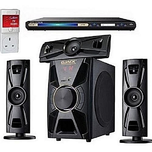 3.1CH Bluetooth Home Theatre DJ-403 +DVD PLAYER + FREE Surge