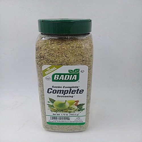 Complete Seasoning -1.75 Lb (793.8g) Sazon Completa