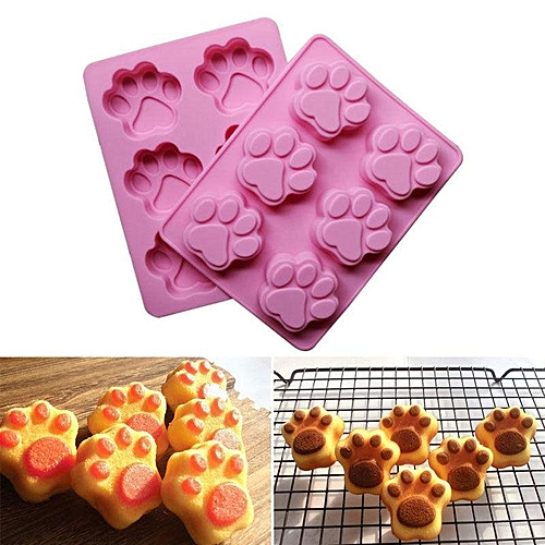 Silicone Cake Mold Tray 3D Chocolate Mould Cookie Bread Pan DIY Baking Tool Kitchen
