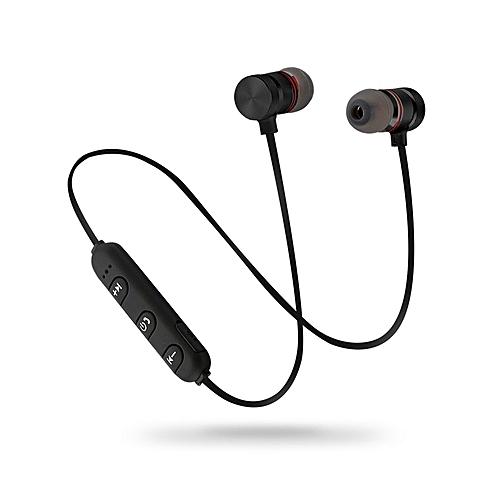 ToHayie Bluetooth Earphone Noise Cancelling Voice Control Handsfree Wireless Bluetooth Headphone