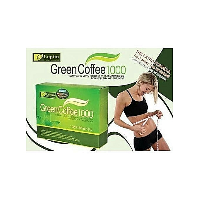 Leptin Green Coffee 1000,Weight Loss Tea For Slimming - Weight Loss ...