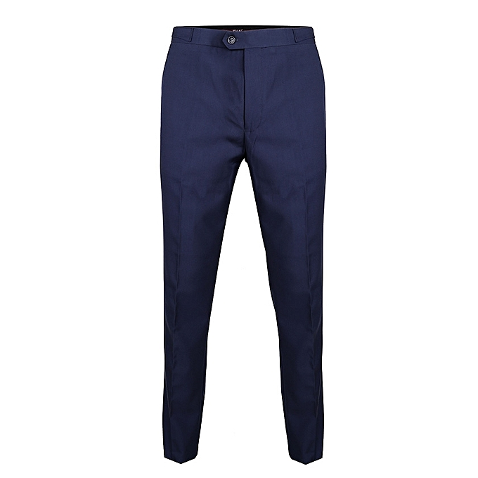ccd7bd97cbd David Wej Men s Formal Trouser With Side Buckle Adjuster - Blue ...